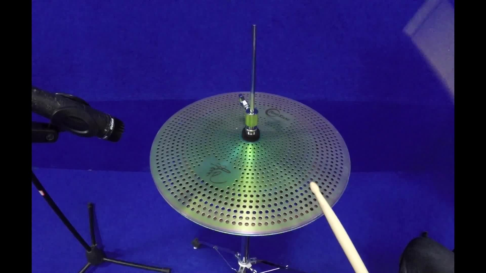 Quiet  low volume sliver cymbal for sale