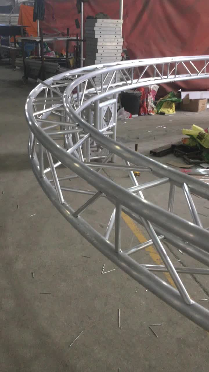 Circle truss aluminum arch roof trusses cheap truss for for Cheap trusses for sale