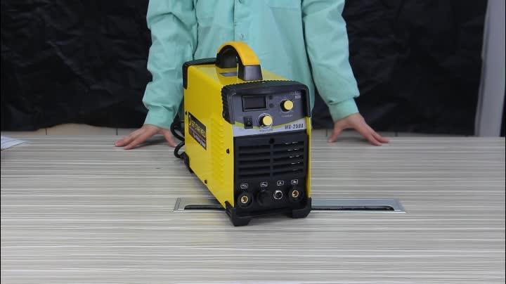 WS-250A Inverter 250 amp MOS tig/saldatura ad arco macchina