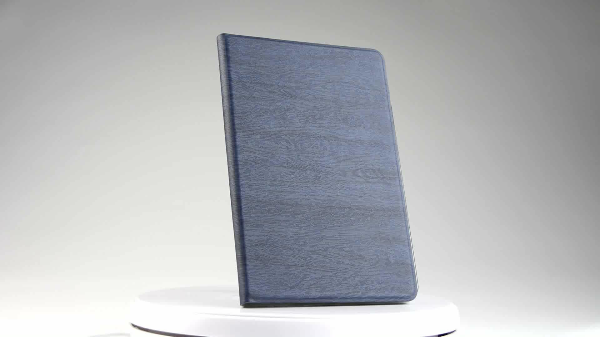 Protetor de tela + Pano de Limpeza + Stylus pu Capa de couro & caso Árvore textura capa para tablet iPad para pro 10.5 9.72017
