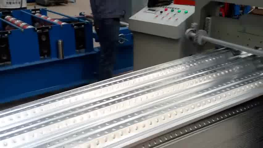 Metalen Vloer Decking sheet Roll Forming machine voor building