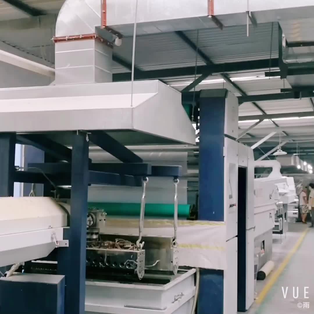 Fabrik produziert 6,8 m Breite Polypropylen gewebe Rollen Für Flexitank Container