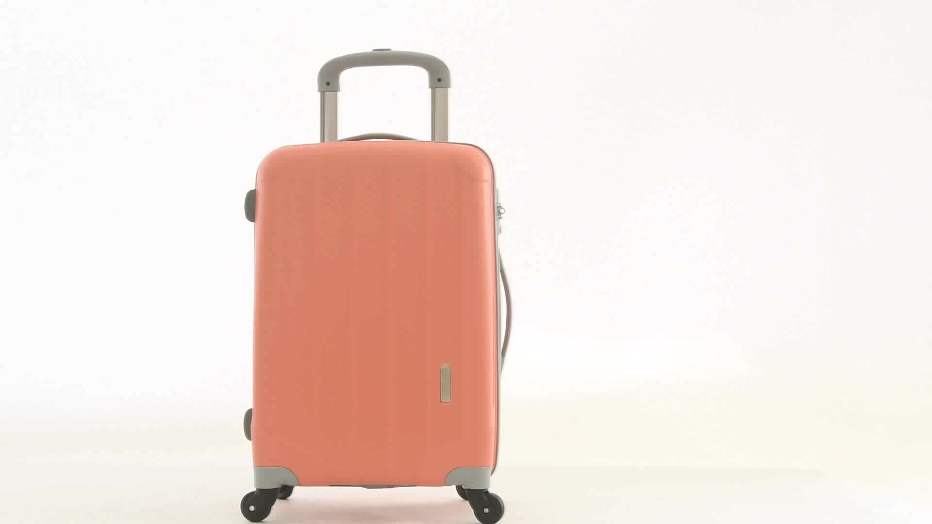 BUBULE Factory  Cheap Price 360 Degree Wheel Hard Shell PP Travel Luggage