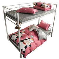 四件套学生宿舍单人网红款床单被子好用吗