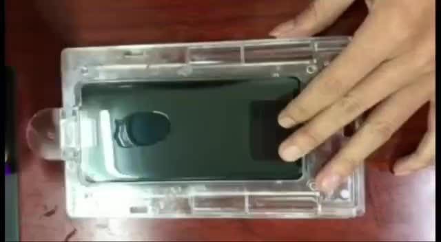 Alta calidad Nano líquido luz UV 3D La pegamento de vidrio templado protector de pantalla para Galaxy S 8 Nota 9 protector