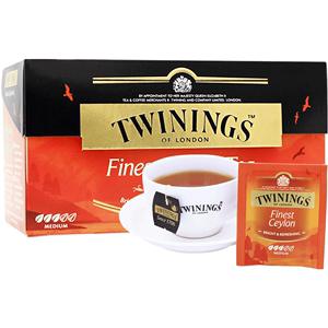 twinings川宁进口精品锡兰红茶25片