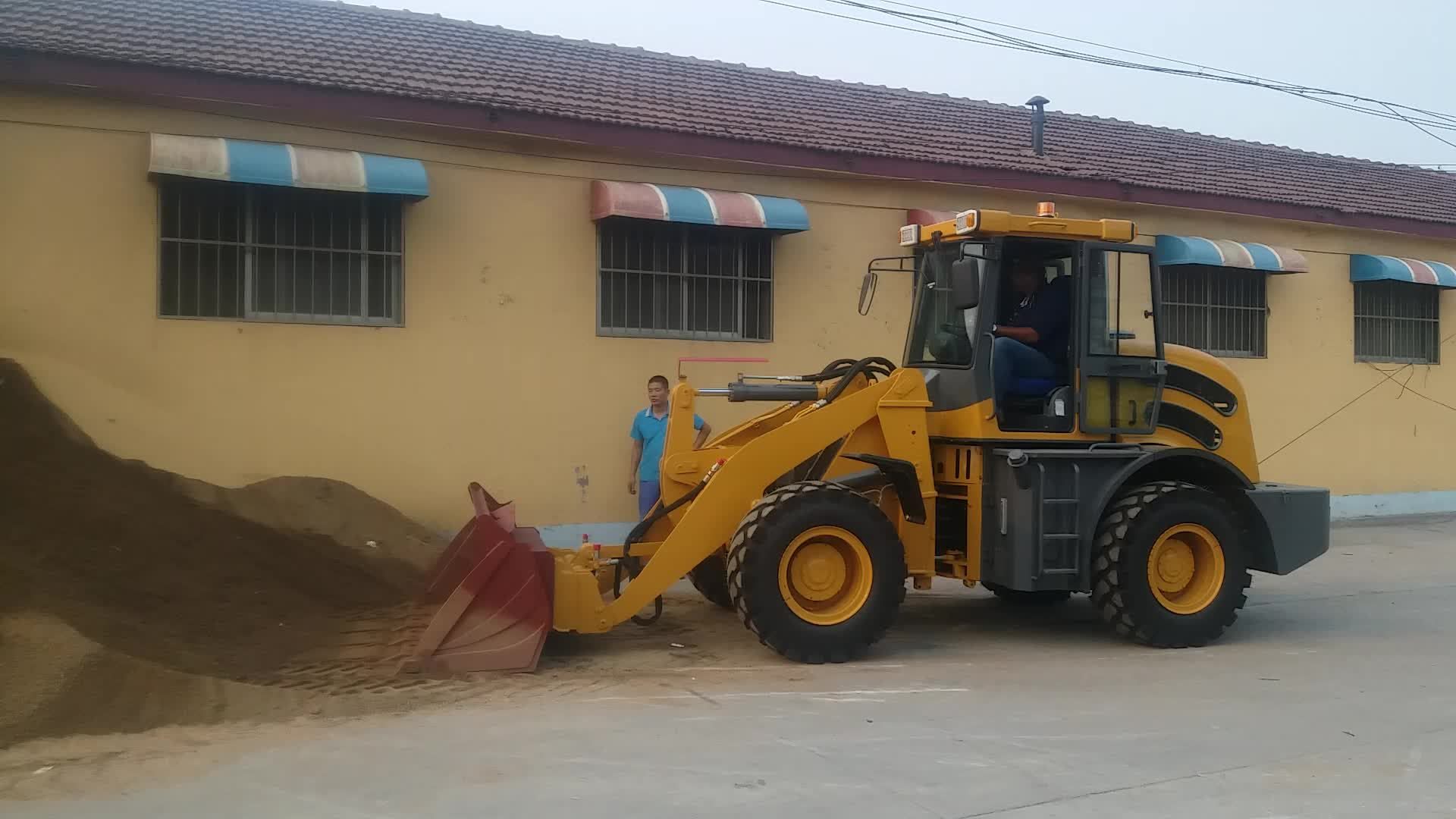 10 Year Supplier Chinese 1.6 ton wheel loader,wheel loader price