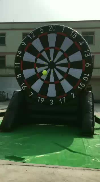 5m high sticky golf inflatable soccer dart board game for kids and adults commercial use