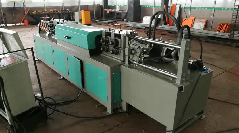 New Hydraulic Steel wire straightening and cutting machine for round rebar, coiled bar, deformed rebar
