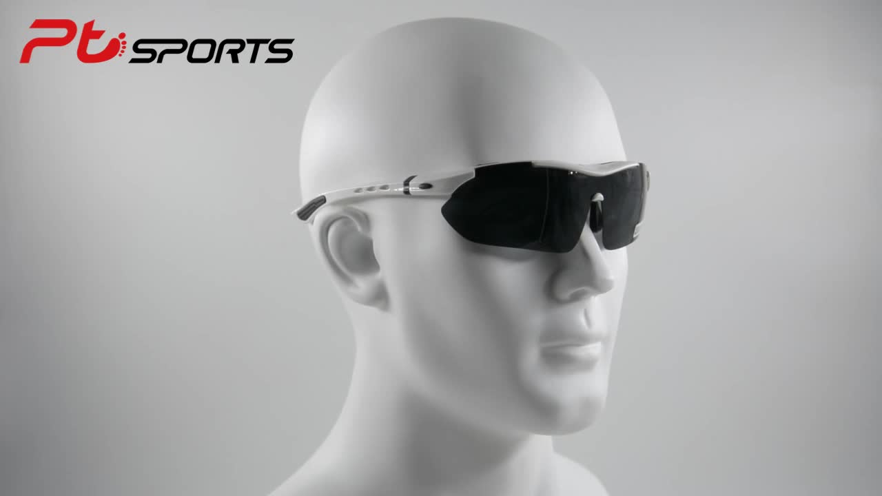 Ptsports Polycarbon TR90 Cycling Sun Glasses Polarized Outdoor Sports goods Bike Glasses Bicycle Sunglasses Goggles Eyewear