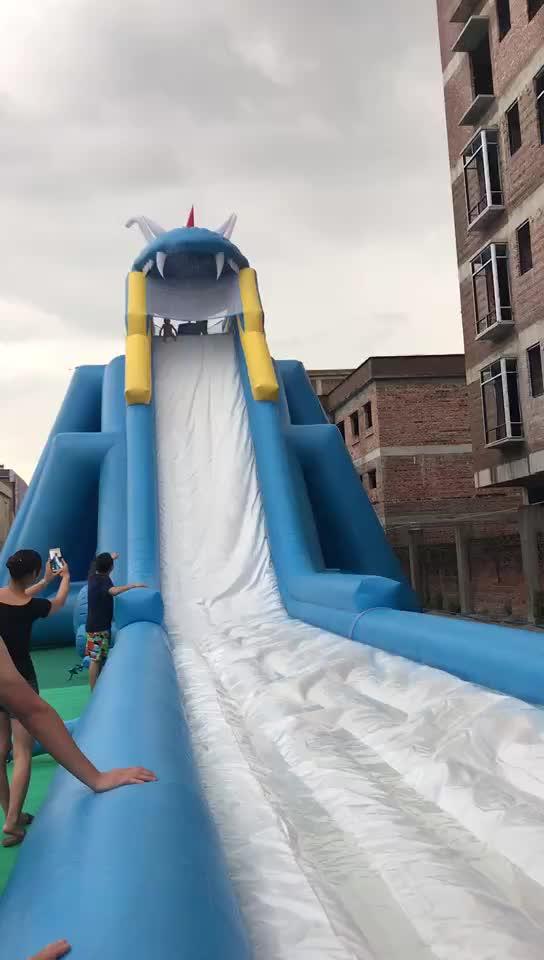 नई डिजाइन inflatable वयस्क स्विमिंग पूल, महासागर रंग inflatable बाउंसर स्लाइड पानी के खेल, आउटडोर उछालभरी और पानी
