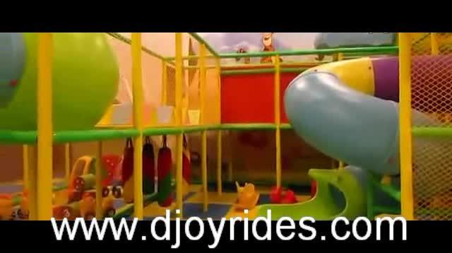 Jungle Thema Indoor Soft Play Apparatuur Voor Kinderen Bal Pit