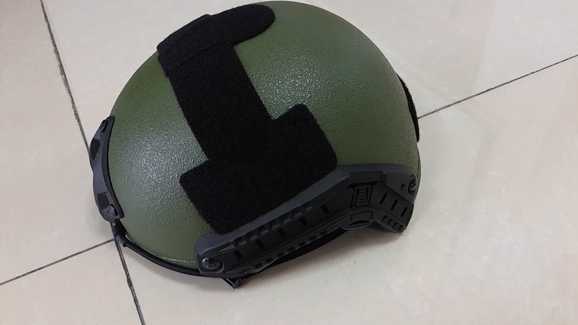 NIJ 0106.01 IIIA standard High Density Aramid fast style Bulletproof Helmet for military army