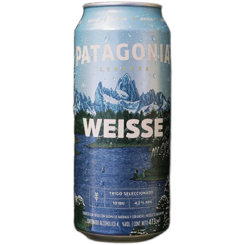 帕塔歌尼亚Patagonia比利时风味白啤酒500ml*6听