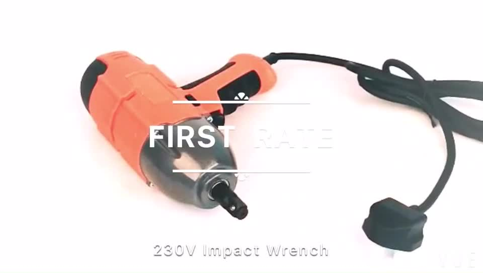 """FIRSTRATE 500Nm 12"""" Electric Impact Wrench for tire"""