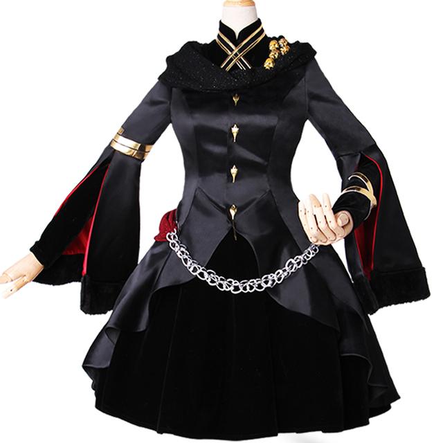 FGO Fate/GrandOrde 埃列什基伽勒 枪凛cosplay服装Ereshkigal