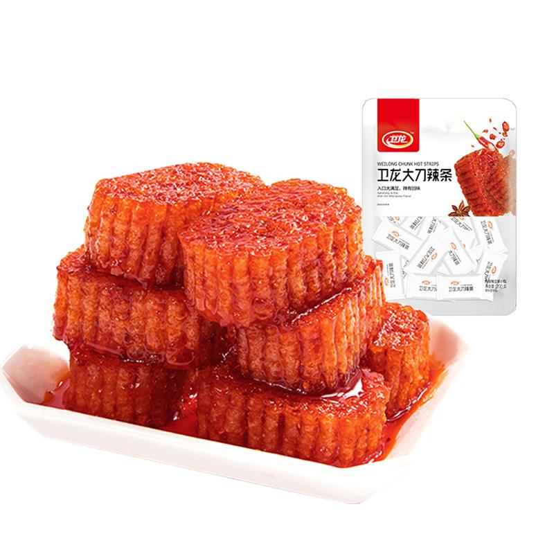 【卫龙_大刀肉】吃货辣味儿时辣条