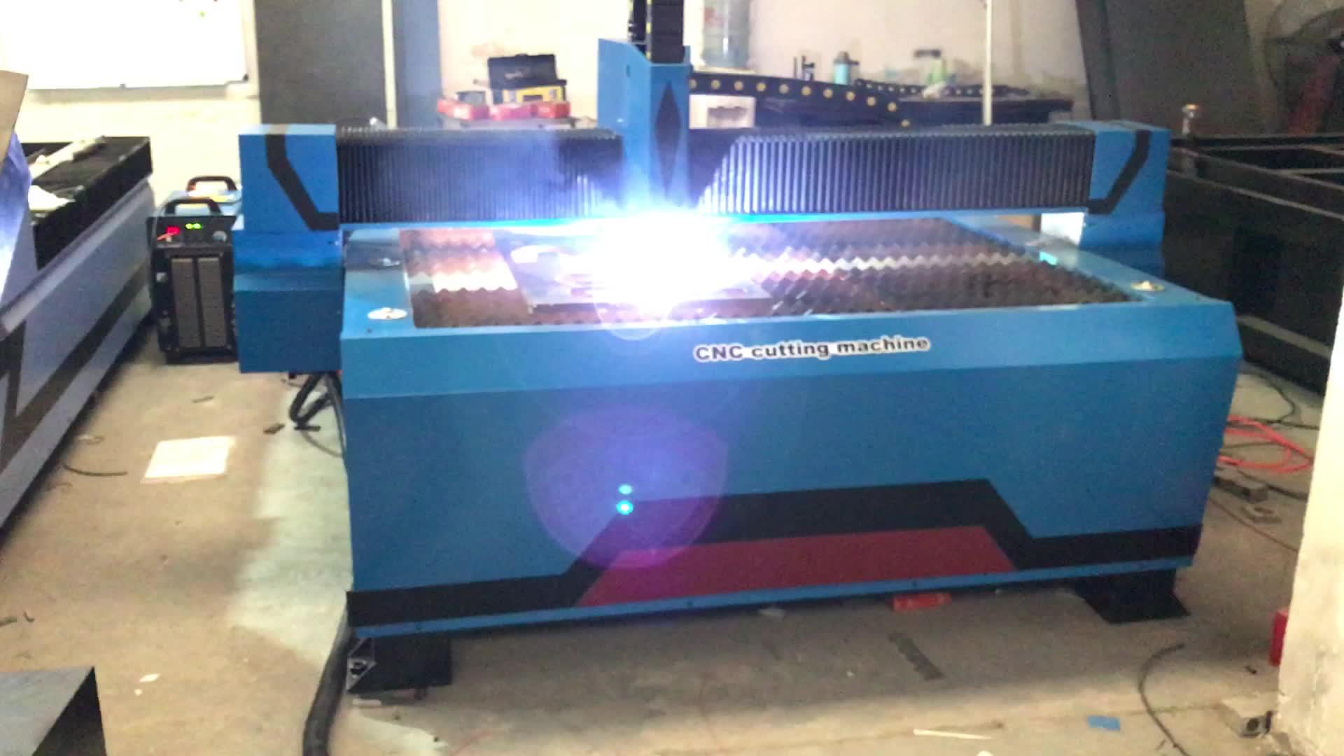 China barato cnc máquina de corte plasma portátil