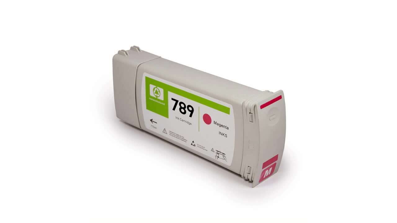 789 remanufactured compatible ink cartridges for HP Latex L25500 printer