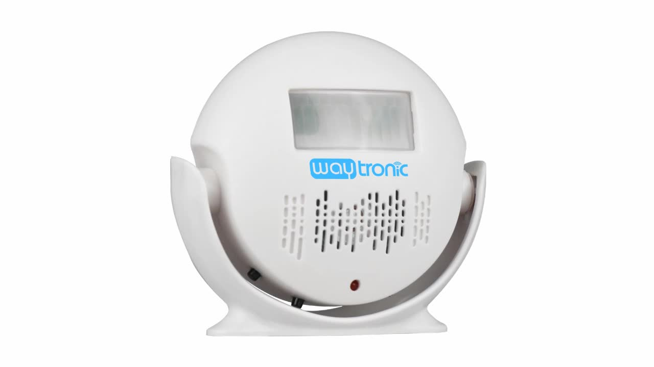 Motion Sensor Voice Recordable WAV Sound Recorder Device for Shop Store