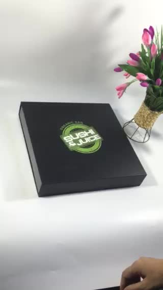VIP wholesale healthy safe paper sushi to go delivery box printed logo with magnet