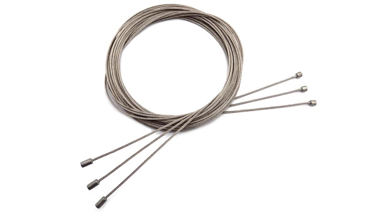 1.0mm/1.2mm/1.5mm Cycling Bicycle Bike Shift Shifter Brake Cable Stainless Steel Inner Wire
