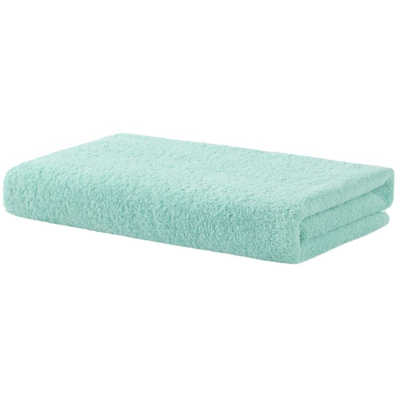 精梳棉柔软抗菌纯色方巾毛巾浴巾质量如何