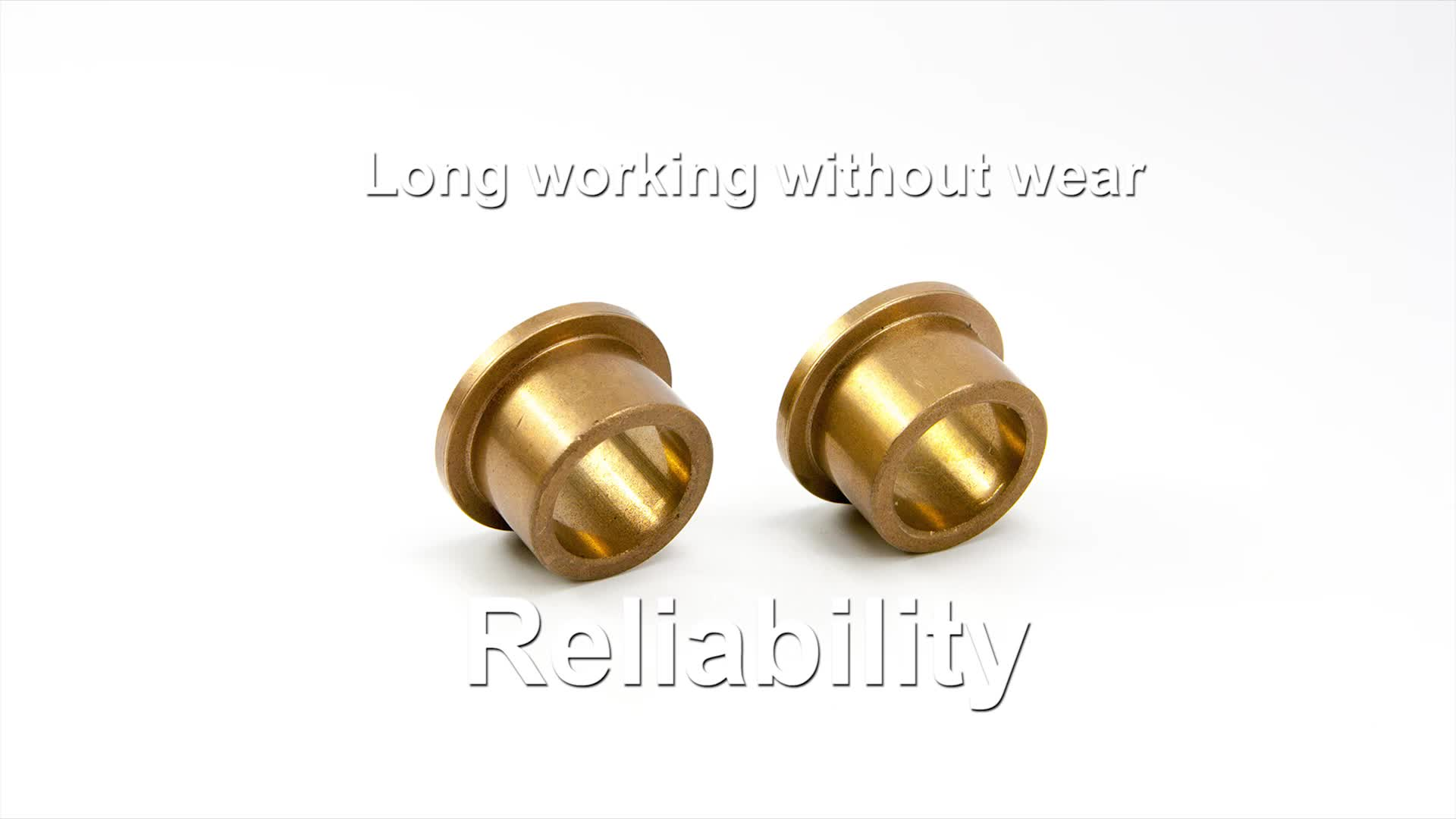 sae841 powder metallurgy oil impregnated sintered oil bronze graphite electric fan motor sleeve bearing flange bushing