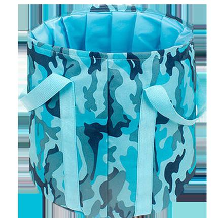 便携式可折叠水盆旅游泡脚桶洗脸盆