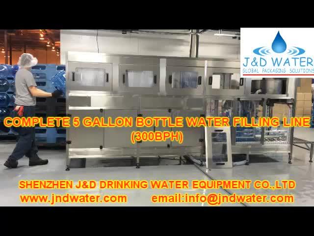 Automatic 5 Gallon Bottle Water Bottling Machine