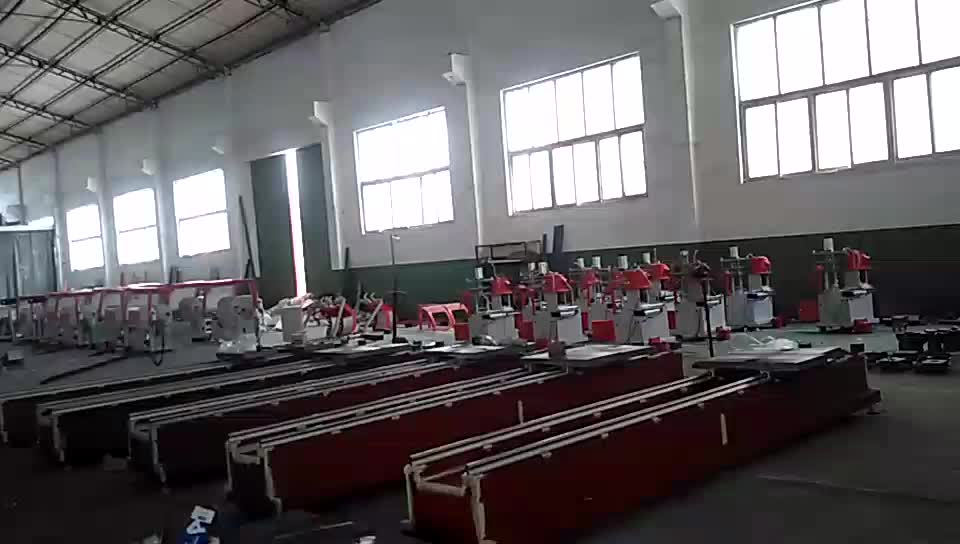 Shandong Yedi otomatik ultrasonik alüminyum çekilmiş erime kaynak gönye testere makinası