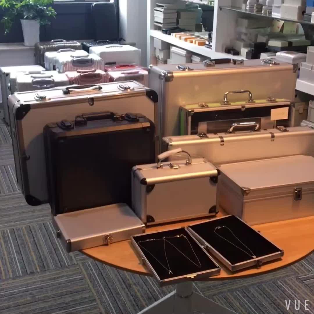 Aluminium DJ CD Flight Storage Case
