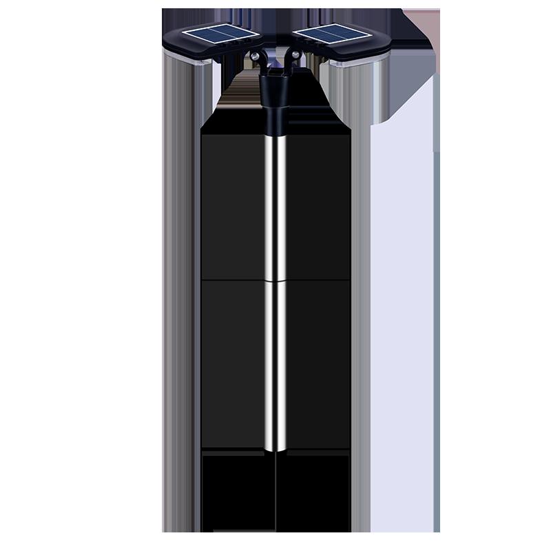 太阳能灯户外花园庭院灯家用人体感应新农村路灯防水壁灯室外电灯