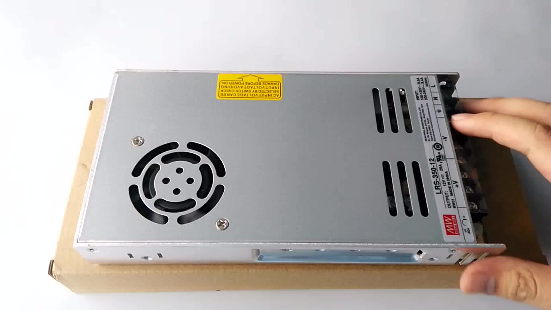 Original meanwell LRS-350-12 12v 30a switch power supply
