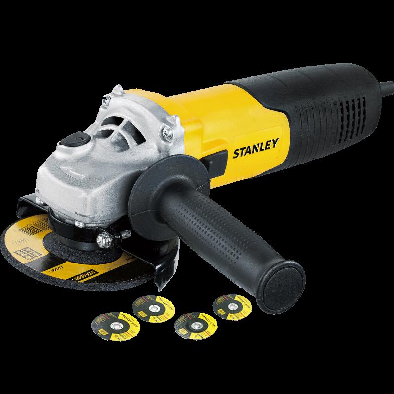 史丹利角磨机砂轮打磨机切割机抛光机磨光机多功能手磨机工具8100