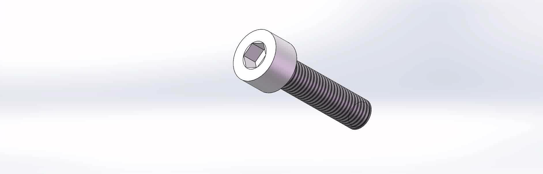 DIN912 Stainless Steel 304 Hexagon Socket Head cap Screw