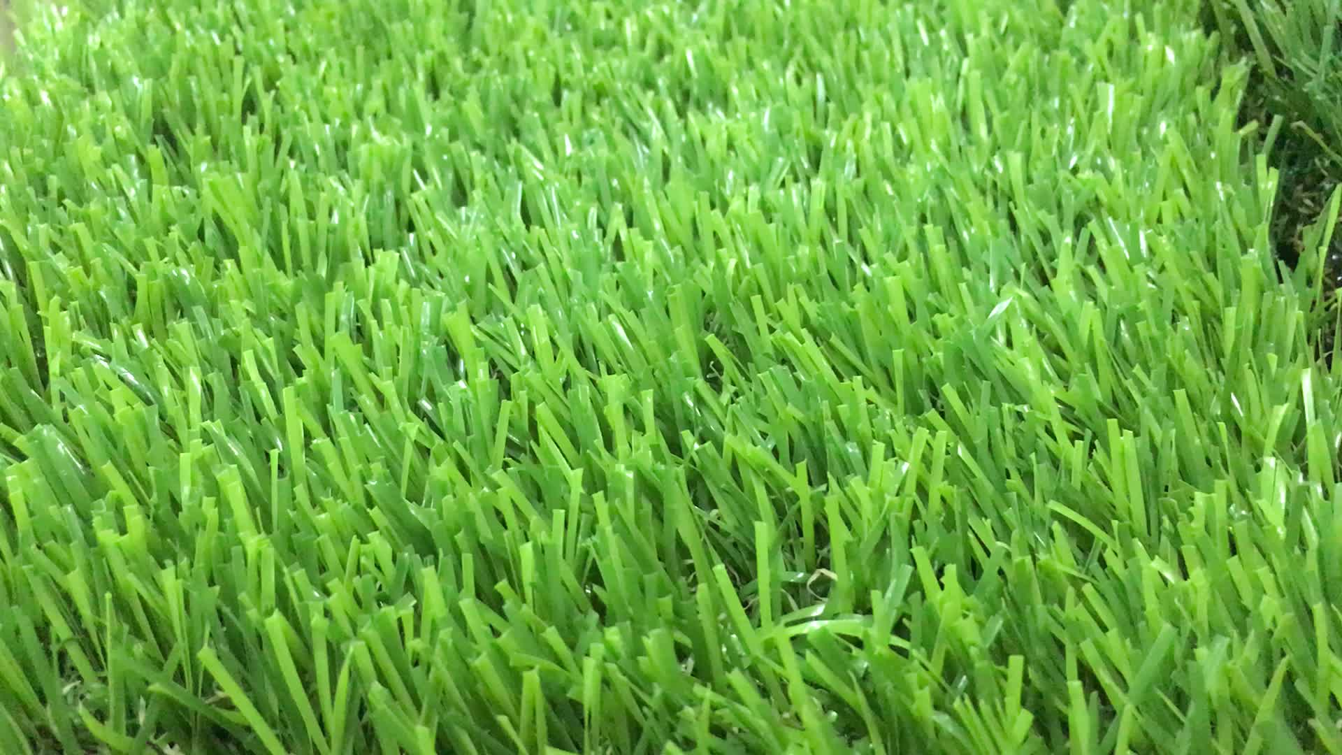 Factory Artificial Green Wall Grass With Rubber Backing