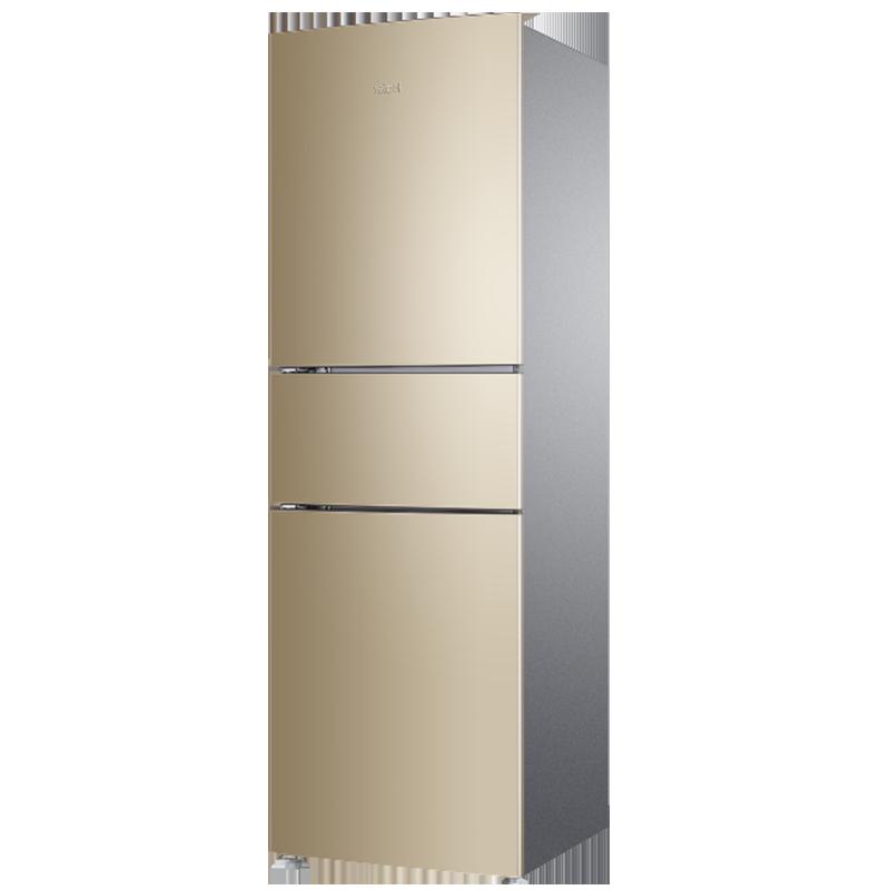 Haier/海尔 BCD-216WMPT家用小型三门多门风冷无霜节能静音电冰箱