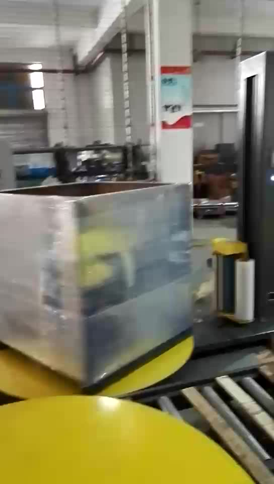 Pallet Stretch Wrapper Automatic Shrink Wrapping Machine