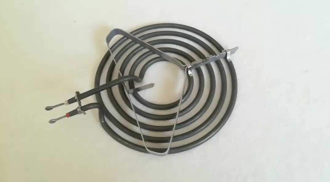 how to clean heating element on electric stove