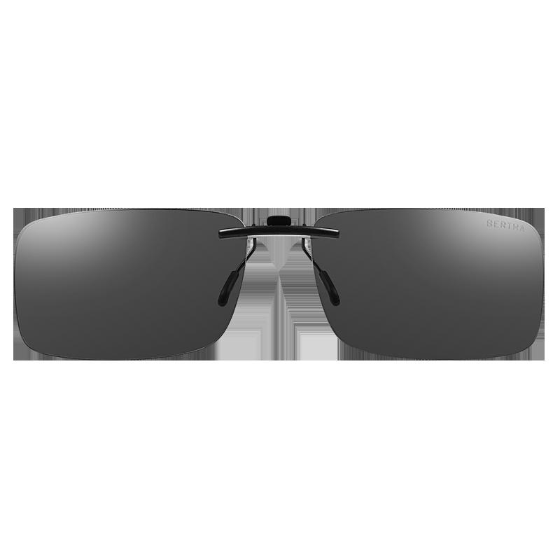 偏光墨镜夹片近视超轻驾驶眼镜夹片式太阳镜男女开车专用防紫外线