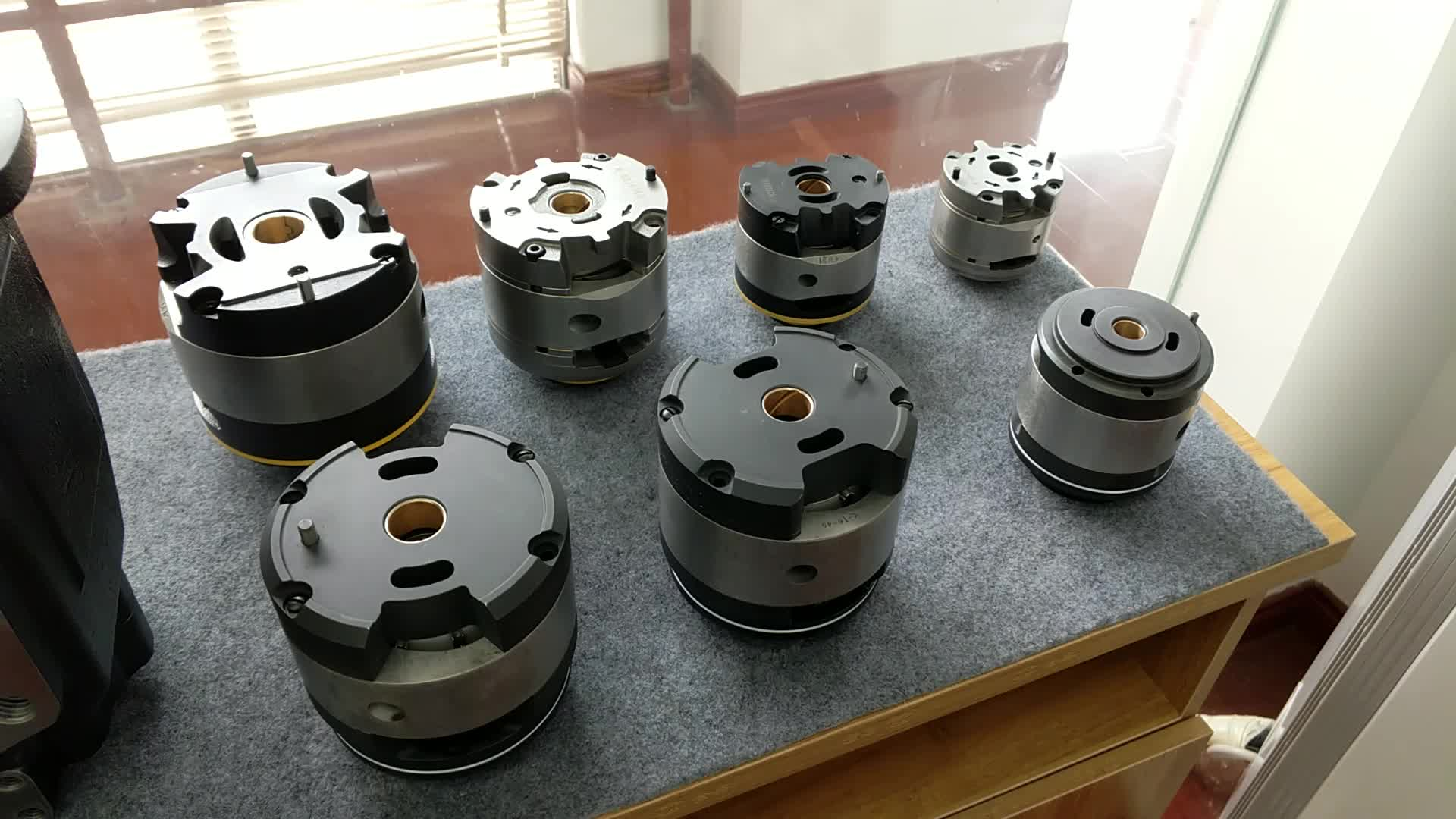 High Pressure Tokimec SQP Hydraulic Vane Pump Cartridge Kits