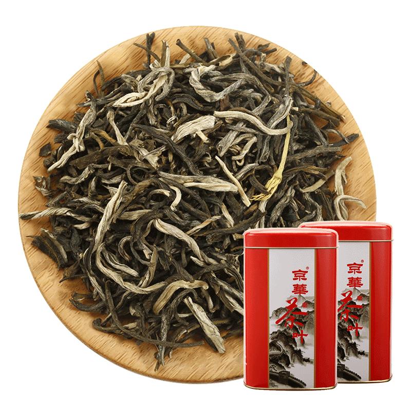 京华茶叶特级茉莉花浓香型散装绿茶