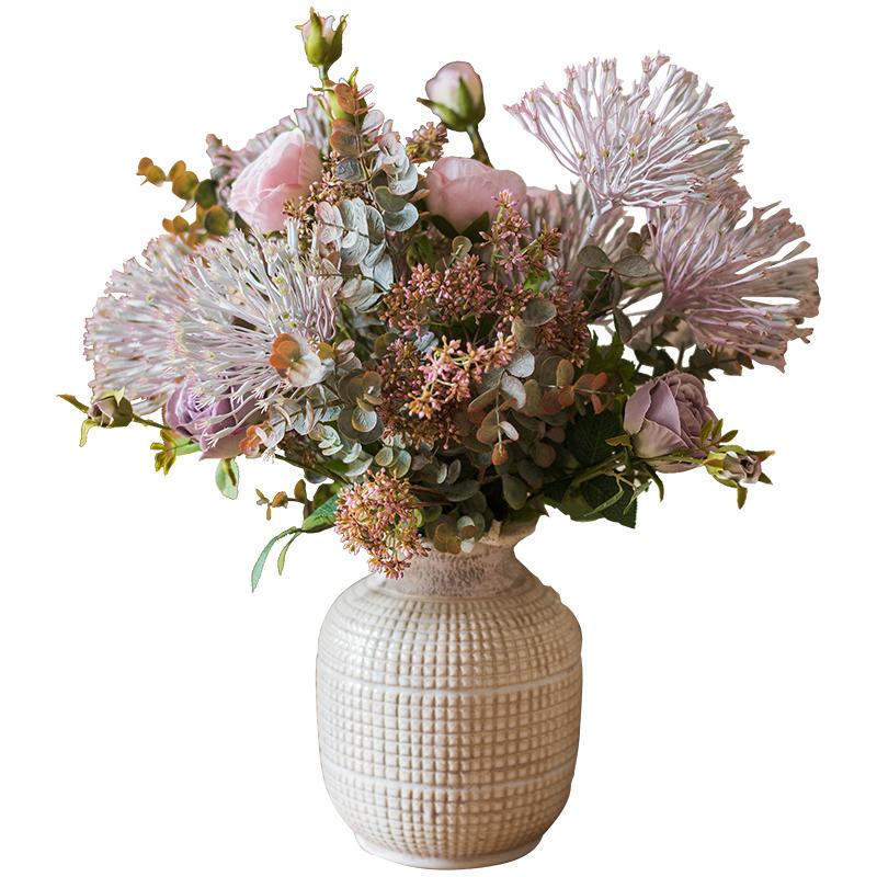 掬涵萦游仿真干花塑料家居客厅花束好用吗