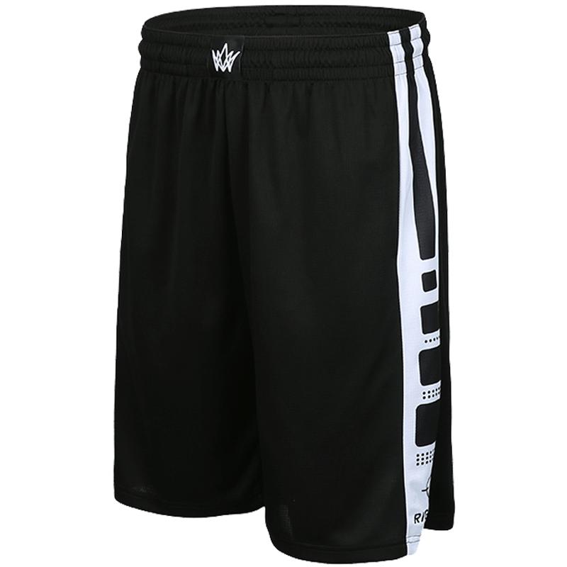 准者篮球裤男运动短裤夏速干跑步裤健身五分裤宽松训练大码沙难裤