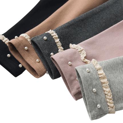 女童打底裤纯棉长裤子儿童装洋气