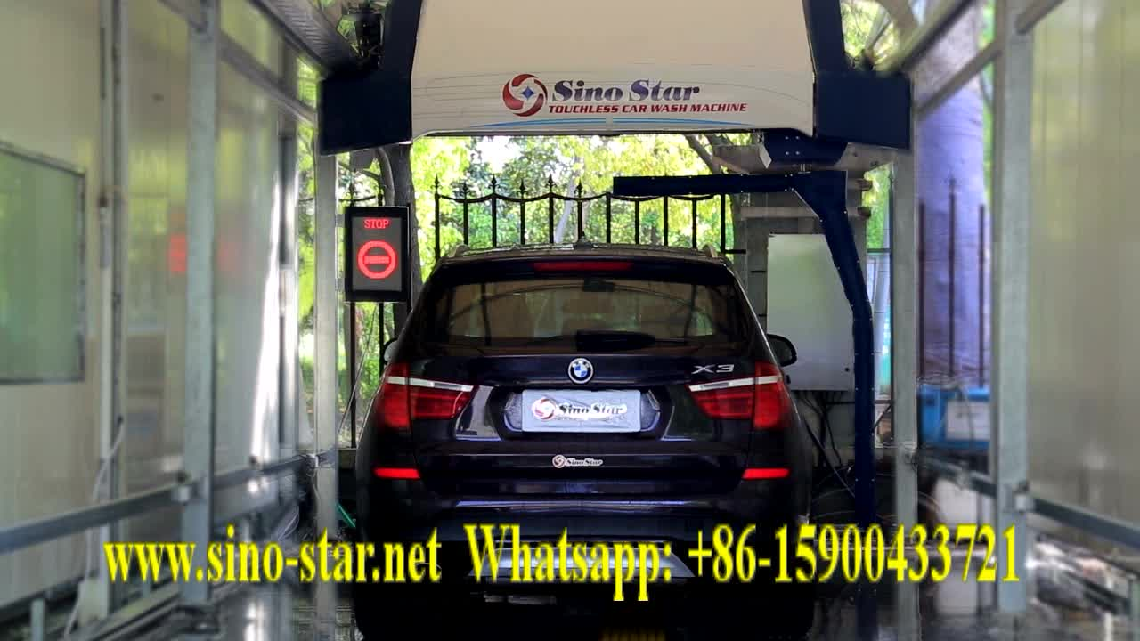 Sino Star Autoumatic Car Washing Machine Price Self