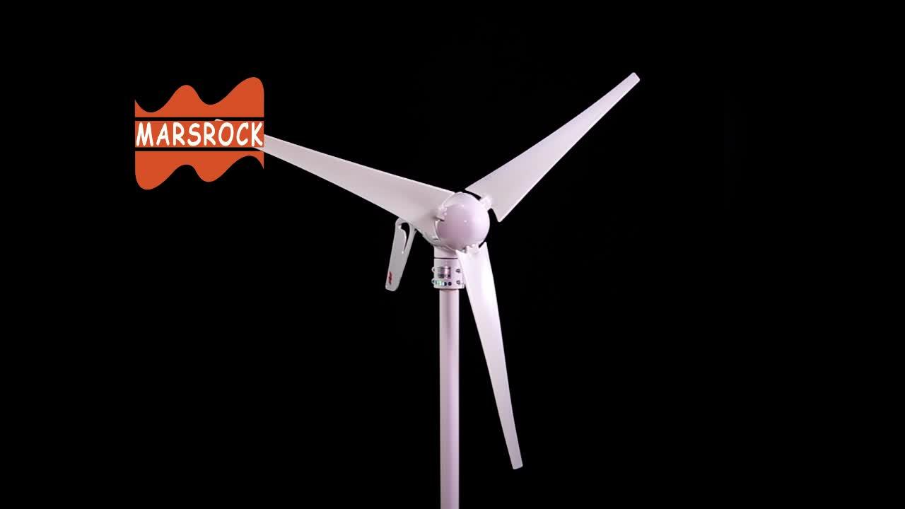 Termurah Harga DC Output 400 W Rendah Start-Up Kecepatan Angin Kecil Generator Residential Turbin Angin