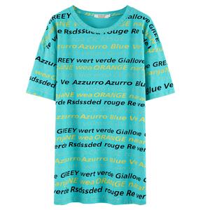 2020年新款夏季纯棉显瘦短袖潮t恤