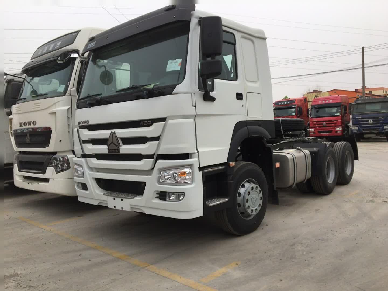 SINOTRUK HOWO 10 Wheels 6x4 Type 371HP Tractor Truck for